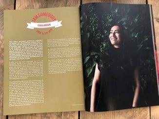 Indischa Flower in de 7e editie van Alakondre Magazine