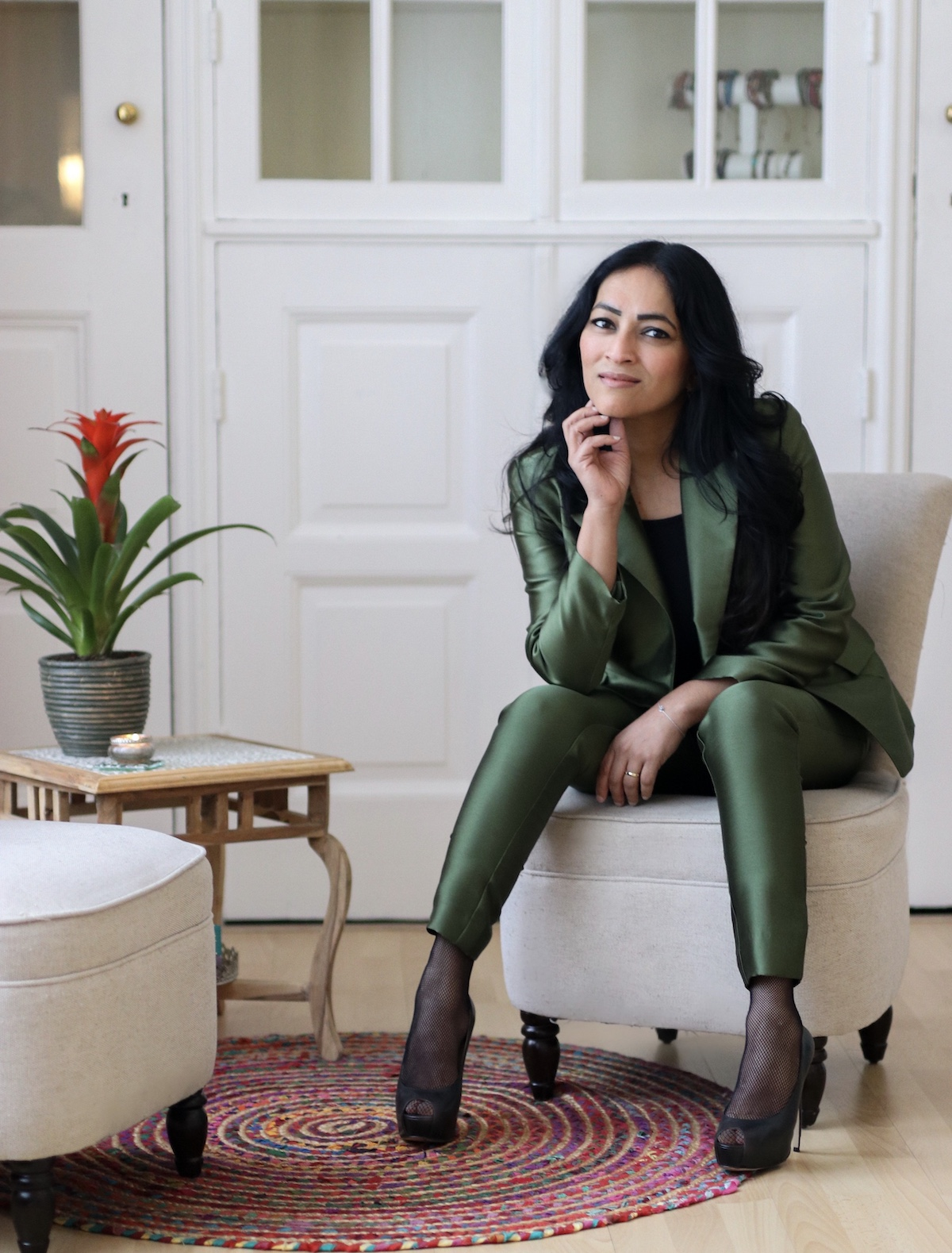 De Salonstylist Rabia Mohan helpt jouw graag met het stileren van jouw salon